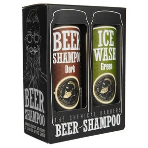 Подарочный набор The Chemical Barbers Beer Shampoo Gift Set Argan