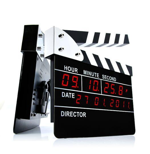 Часы Режиссерская хлопушка