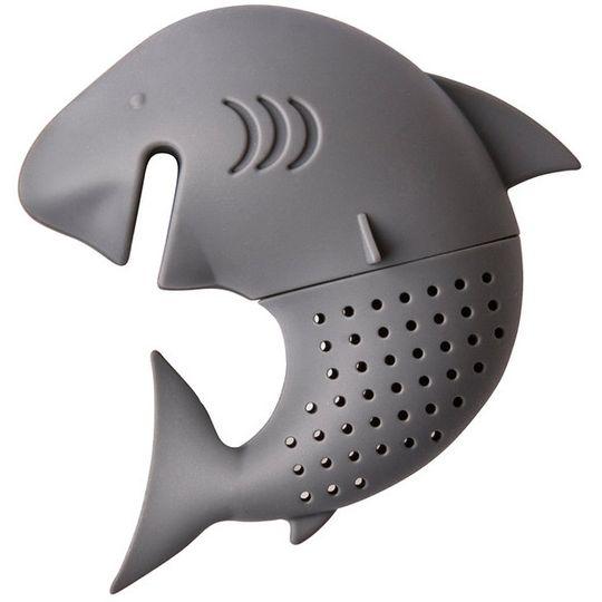 Заварник для чая Акула (Серый)