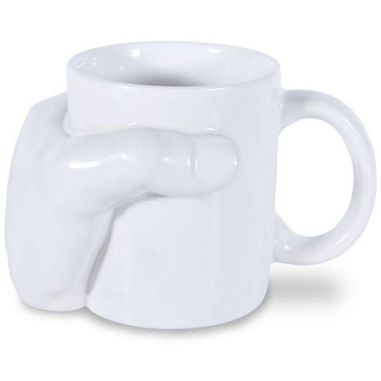 Кружка Рука Hand Mug С обратной стороны
