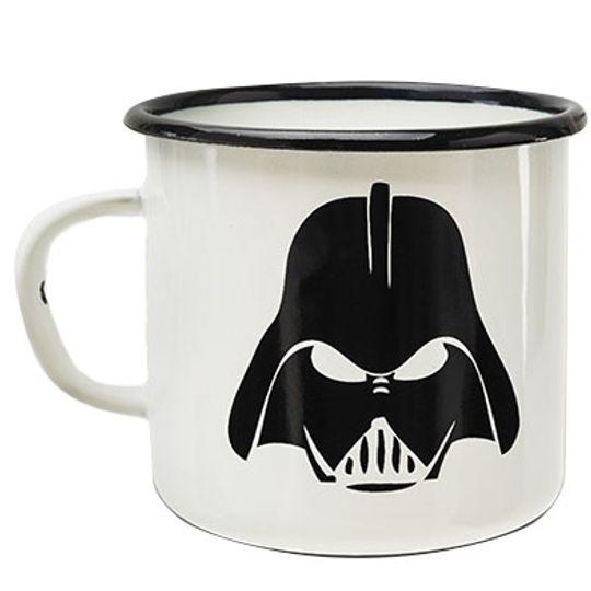 Эмалированная кружка Darth Vader