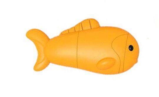 Флешка Желтая Рыбка 2 Гб
