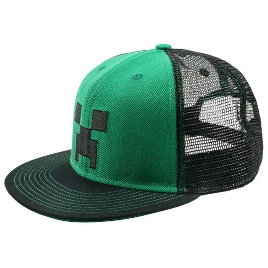 Бейсболка Creeper Minecraft (сетка)
