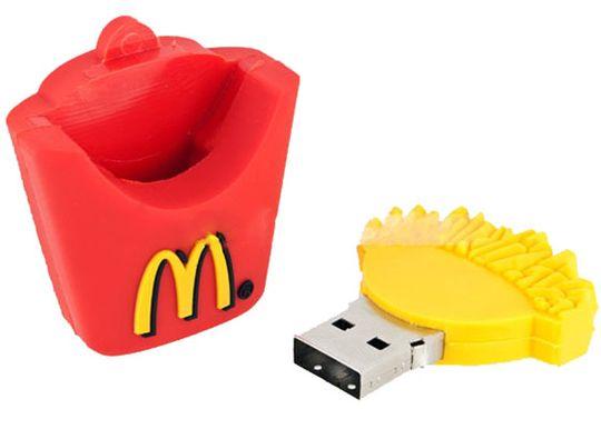 Флешка McDonalds Картофель Фри 4 Гб