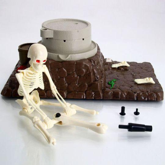 Копилка Поющий скелет Grinding skeleton