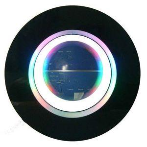 Левитирующий глобус в круге с подсветкой 14 см