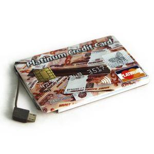 Внешний аккумулятор Power Bank Platinum Credit Card