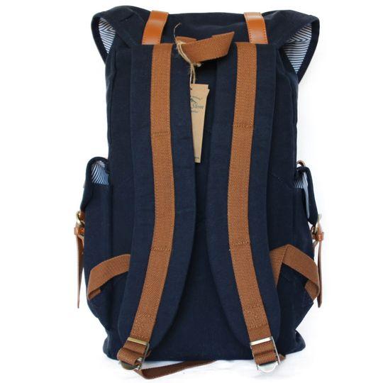 Рюкзак Yellow Stone Kenya (Темно-синий) Со стороны спины