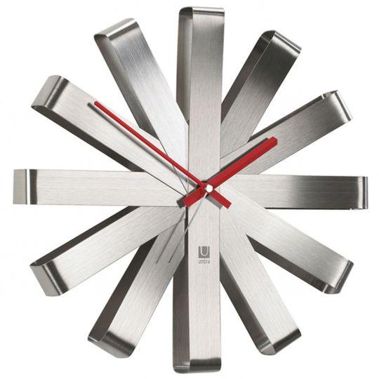 Часы настенные Ribbon (Металлические)