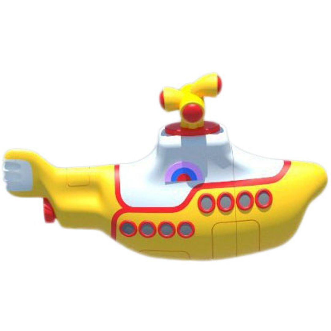 Флешка Желтая подводная лодка Yellow Submarine 16 Гб