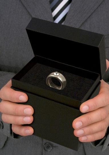 Кружка Кольцо с бриллиантом Серебрянное