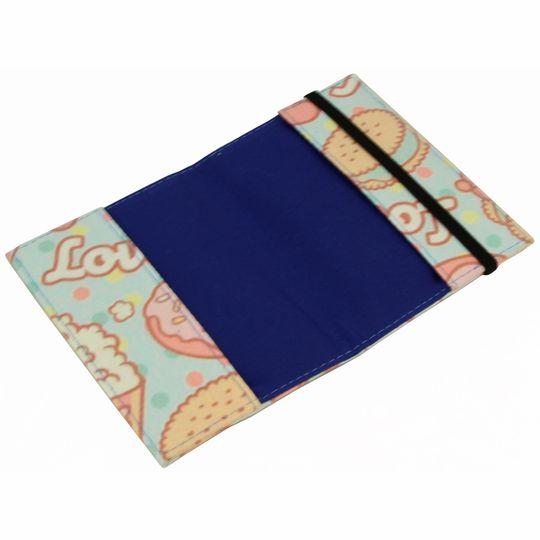 Обложка для паспорта Sweet Popcorn В открытом виде