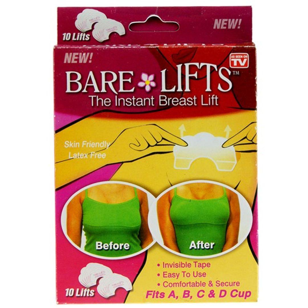 Наклейки для поднятия груди Bare Lifts (5 пар)