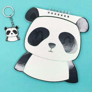 Блокнот+брелок Панда Panda