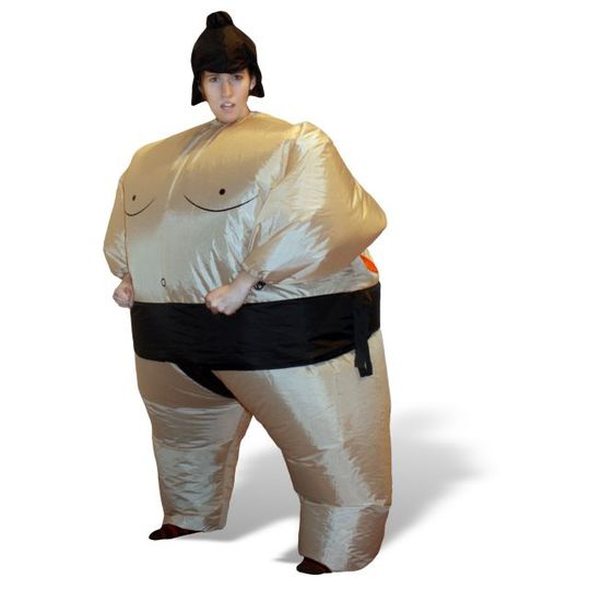 Надувной костюм Сумоист (детский)