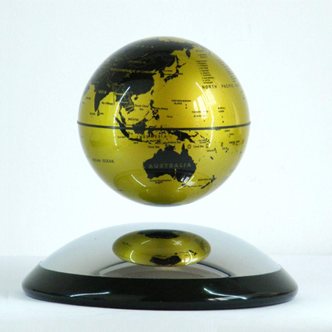 Настольный левитирующий глобус 10 см