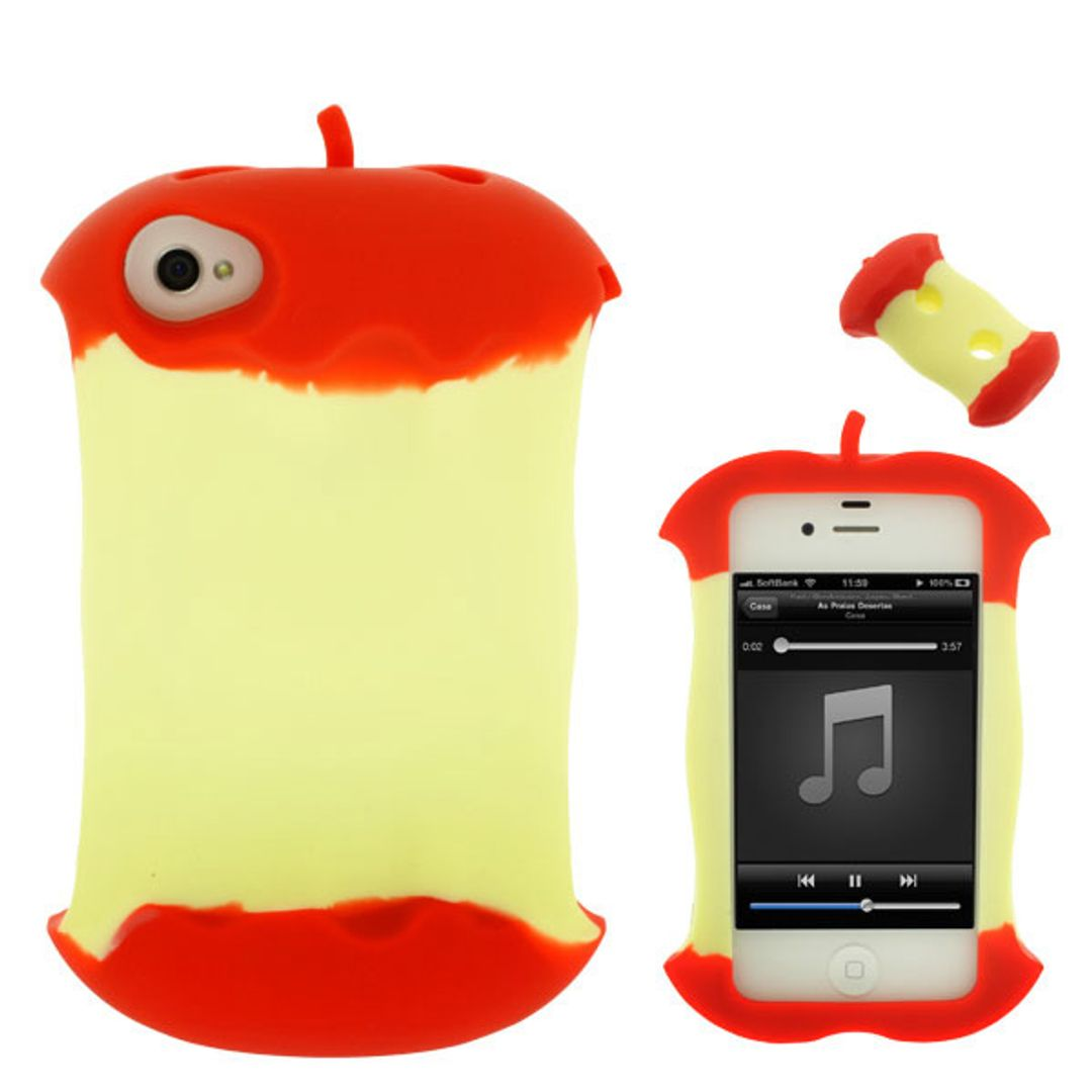 Чехол iPhone 4 Огрызок