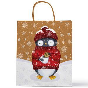 Подарочный пакет Пингвин