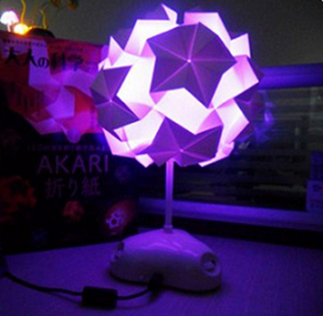 Светильник Конструктор Akari Сиреневая подсветка