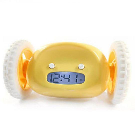 Убегающий будильник Clocky (Желтый)