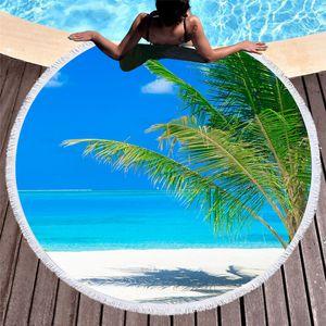 Пляжный коврик Рай под пальмами