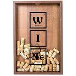 Копилка для винных пробок Периодическая система вина
