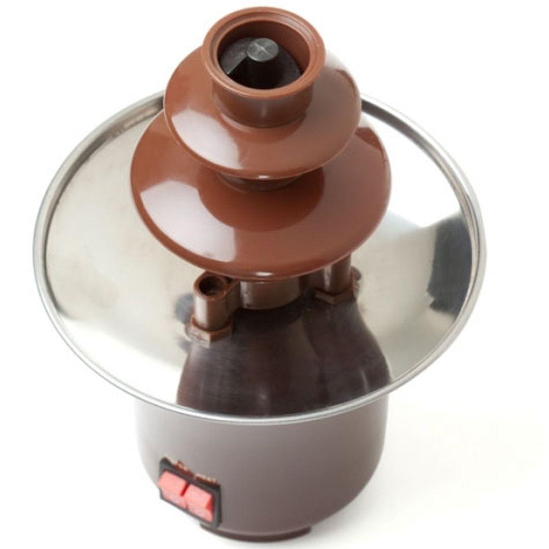 Шоколадный фонтан 2 яруса Термостойкий пластик