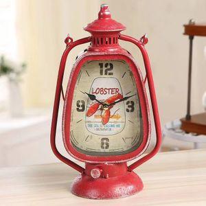 Винтажные часы Керосиновая лампа