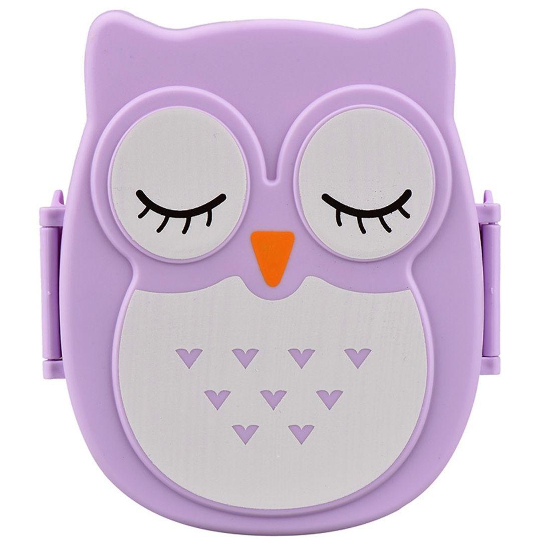 Ланч-бокс Сова Owl (Розовый)