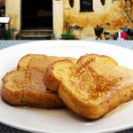 Штамп на тост Париж French Toast