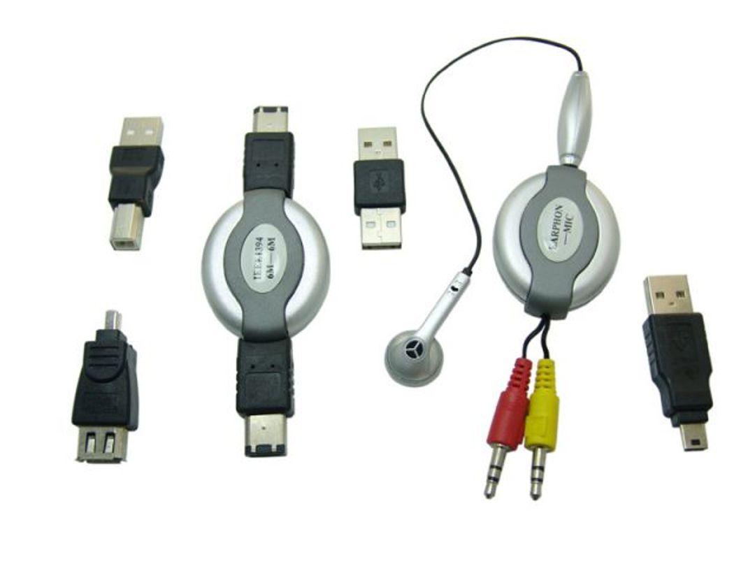 Набор кабелей для поездок