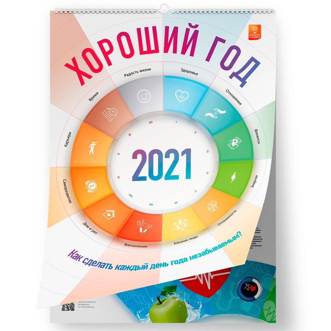 Концепт-календарь Хороший год 2021