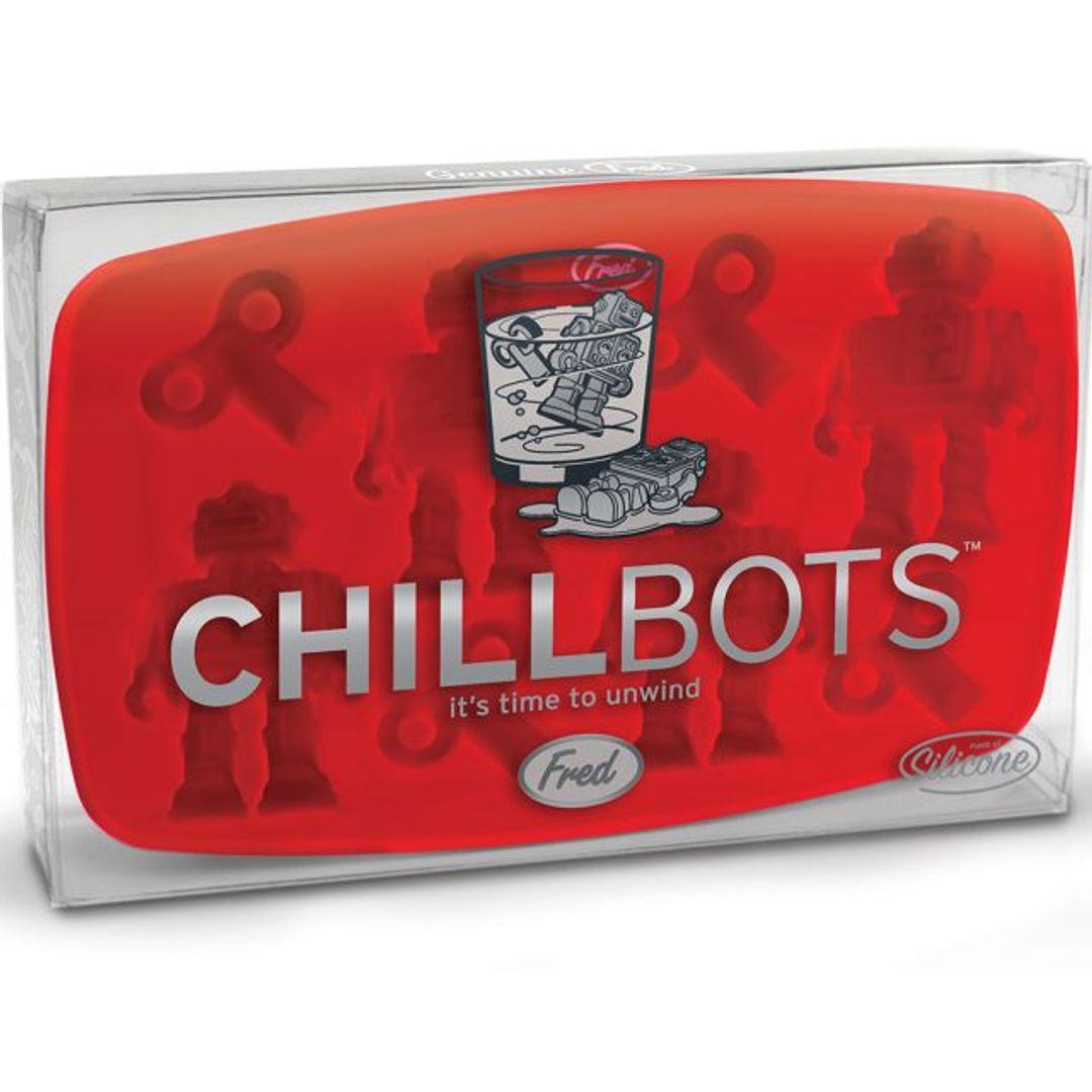 Форма для льда Робот Chill Bots Упаковка