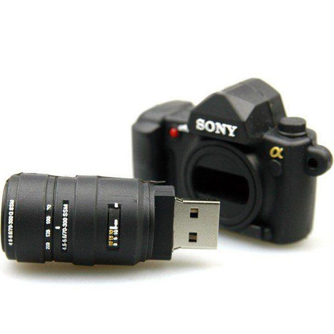Флешка Фотоаппарат Sony 16 Гб В открытом виде