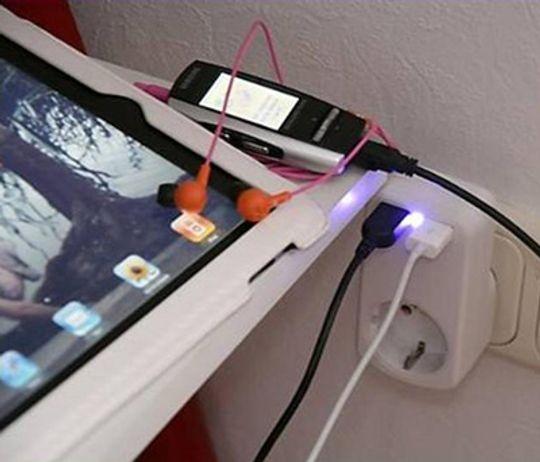 USB Тройник 220В + 2USB MT4012