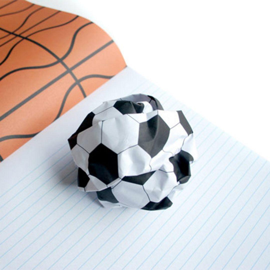 Блокнот Мячи