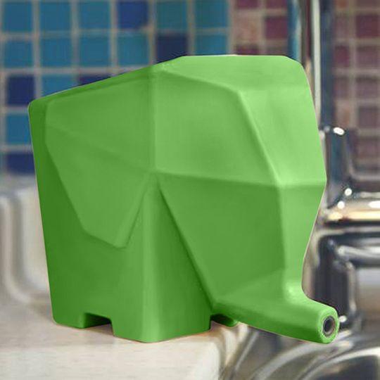 Горшок Слон (Зеленый)