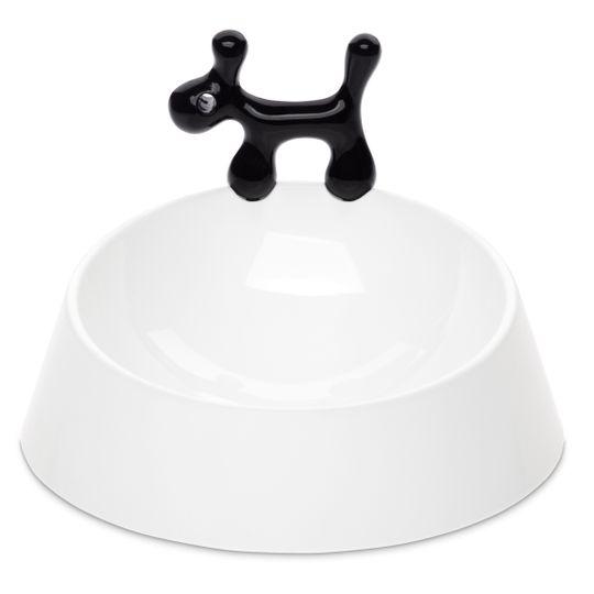 Миска для собаки WOW (Белый с черным)