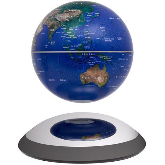 Настольный левитирующий глобус 14 см