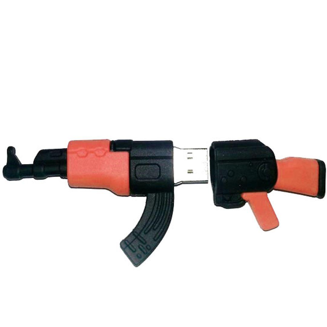 Флешка Автомат Калашникова АК-47 16 Гб Открытая крышка