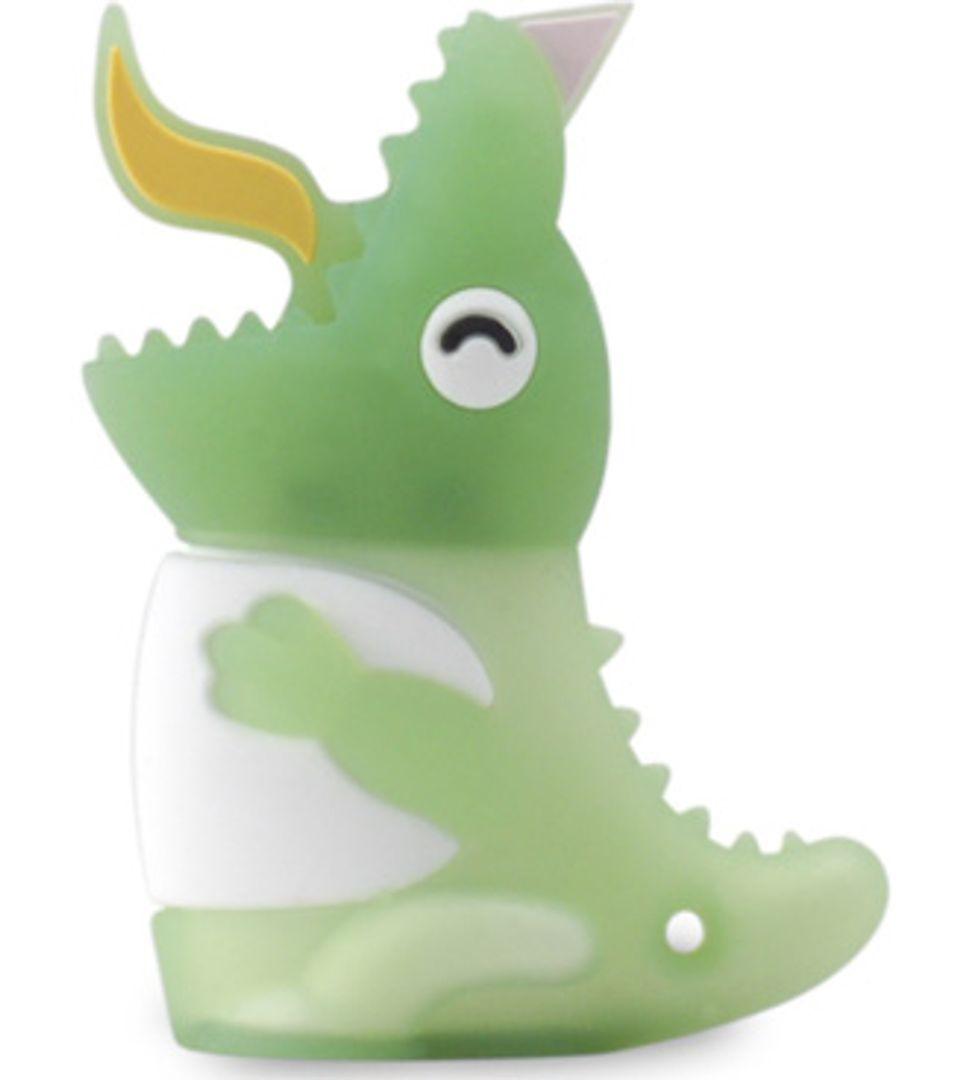 Флешка Динозавр Зеленый 4 Гб
