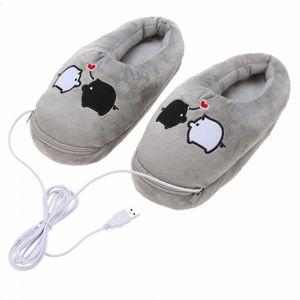 Тапочки с подогревом от USB Свинки
