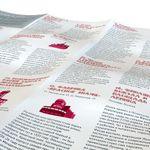Путеводитель Советский Ленинград В развернутом виде, сторона с текстом