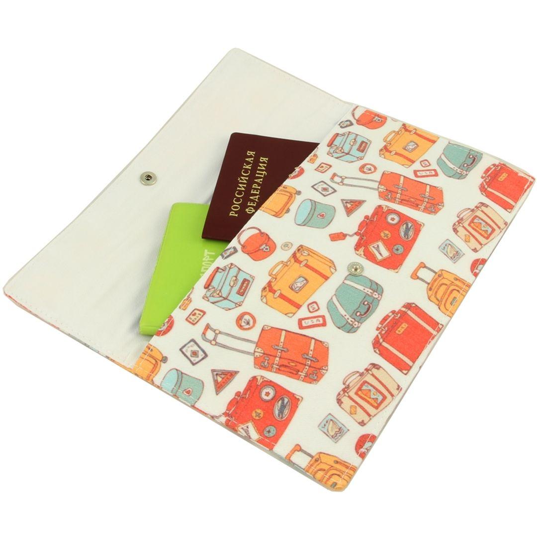 Конверт для путешествий Baggage С документами