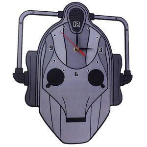Часы настенные Кибермен Доктор Кто