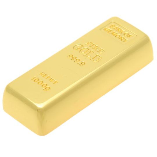 Флешка Слиток золота 8 Гб