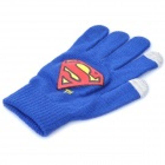 Перчатки для сенсорного экрана Superman