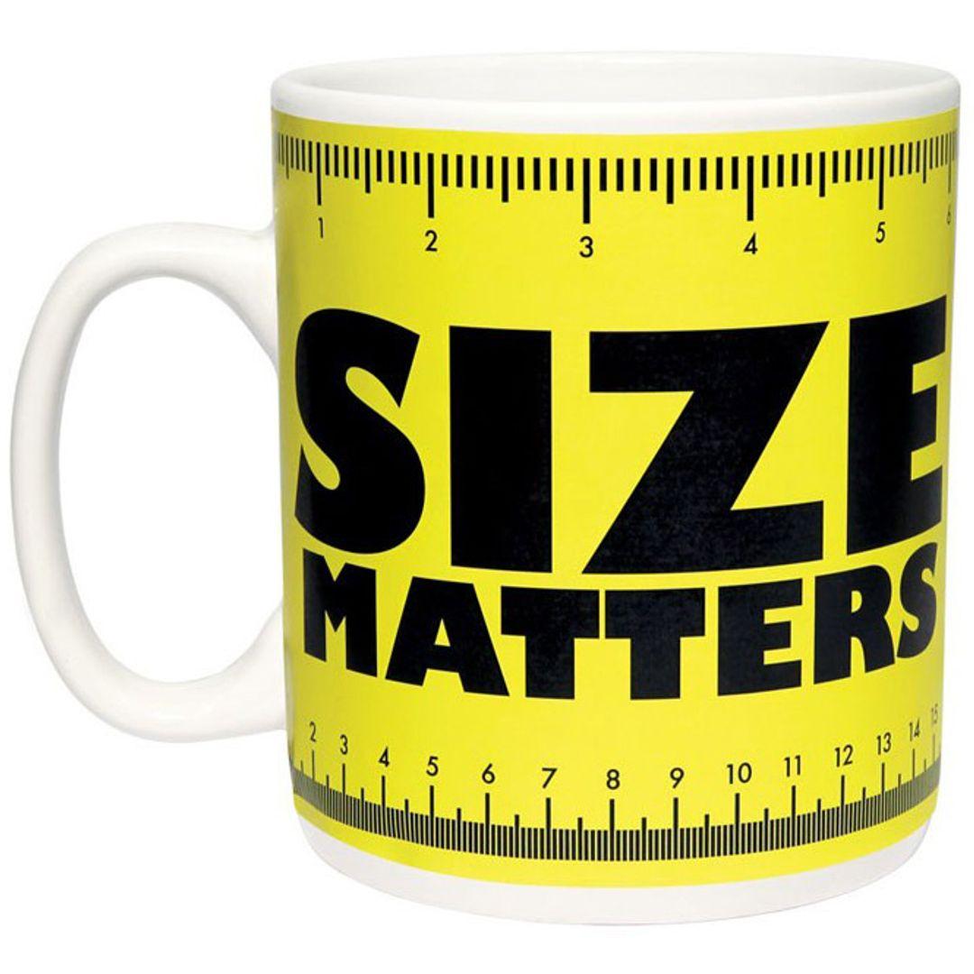 Гигантская кружка Size Matters