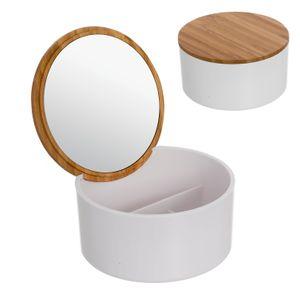Шкатулка для украшений с зеркалом Bamboo