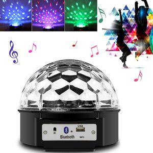 Светодиодный дискошар с динамиком Led magic ball light Bluetooth